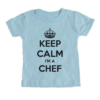 Keep Calm I'm A Chef Baby Tee