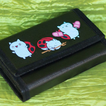 3DS XL Hard Case Hand Painted with Catbug