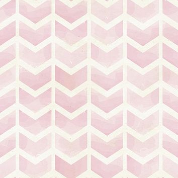 Rose Chevrons Wallpaper