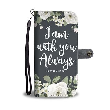 """""""With You"""" Wallet Phone Case"""