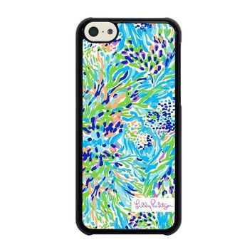 lilly pulitzer sea soiree iphone 5c case cover  number 1