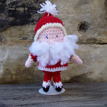 Santa Claus Doll - Crochet Amigurumi Stuffed Animal/Doll
