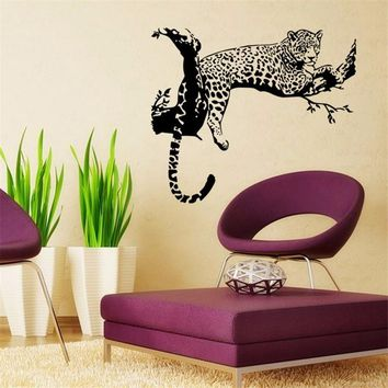 tiger Black PVC Wall Stickers for Home Decor