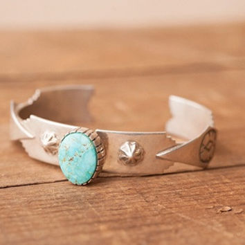 Whiskey River Turquoise Cuff
