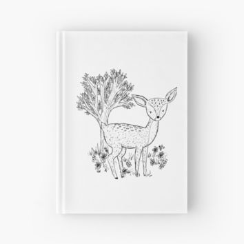 'Fawn' Hardcover Journal by Laura Maxwell