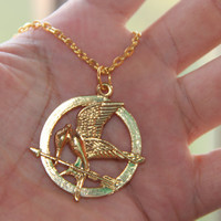 The Hunger Games mocking Jay Mocking Bird Pendant Necklace Fashion Jewelry antiques