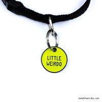 LITTLE WEIRDO // PET COLLAR CHARM