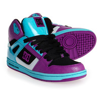 DC Shoes Rebound High Boots (Black/Grape) | Blue Banana UK