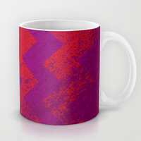 rational meets irrational (in red) Mug by Marianna Tankelevich