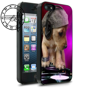 DJ Dog Funny iPhone 4s iPhone 5 iPhone 5s iPhone 6 case, Samsung s3 Samsung s4 Samsung s5 note 3 note 4 case, Htc One Case