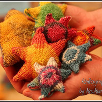 Stuffed Stars - Stars for mobile, gifts and more, made to order - christmas decoration, gift toppers, baby shower