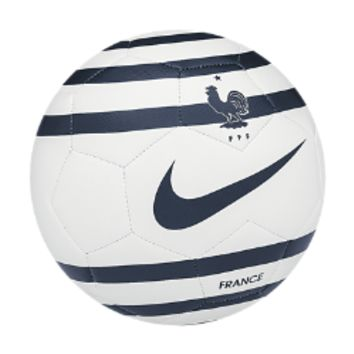 Nike FFF Prestige Third Pack Soccer Ball Size 4 (White)
