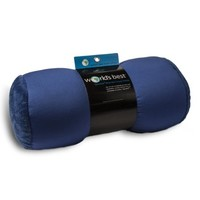 World's Best Air Soft Microbeads Tube Pillow, Charcoal