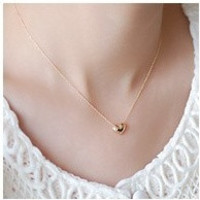 small accessories heart necklace short design chain gold necklaces & pendants = 1668827268