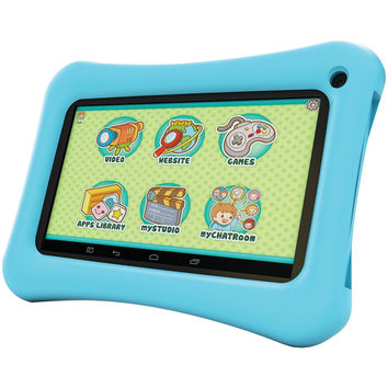 "Hipstreet 7"" 8gb Dual-core Tablet (blue)"