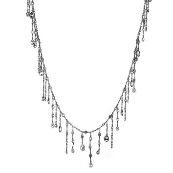Fringe Waterfall Diamond by the Yard Necklace