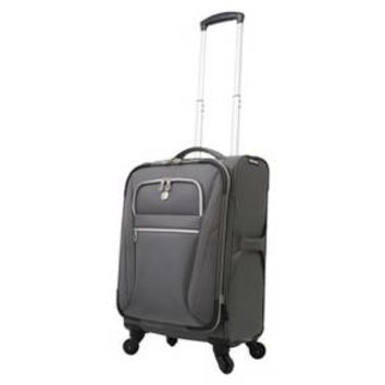 "SwissGear Checklite Ultra Liteweight 20"" Carry On Luggage - Charcoal"