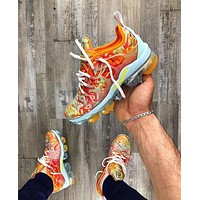 NIKE AIR VAPORMAX PLUS Atmospheric Fashion New Women Men pad Running Shoes