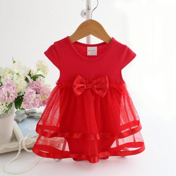 Top Quality Kid Girl Dress Baby Clothing Brand Ceremonies Party Dresses Girls Clothes Costumes For Girl Wedding Christening Gown