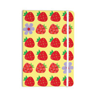 "Jane Smith ""Seasons Summer"" Yellow Red Everything Notebook"