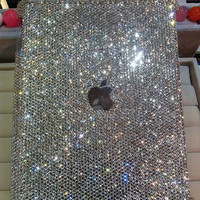 Bling iPad 4 case iPad 3 case iPad 2 case ipad mini case Bling Crystal iPad Mini case Artificial Swarovski Crystal Handmade ipad Cover