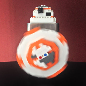 Lego BB-8 Star Wars Birthday Party Decoration Gift Centerpiece.BB-8.Droids.bb8.LEGO Star Wars.Force Awakens.Jedi.Lego Candy Jar.Home Décor.