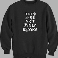 They Are Not Only Books Sweater for Mens Sweater and Womens Sweater *