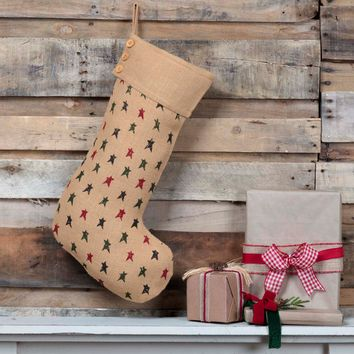 Primitive Star Jute Stocking