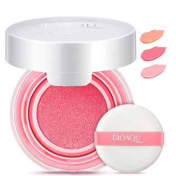 New  Air Cushion Blusher Bronzer Makeup Mineralize Blusher Cheek Sleek Cosmetics Soft Powder Naked Make Up