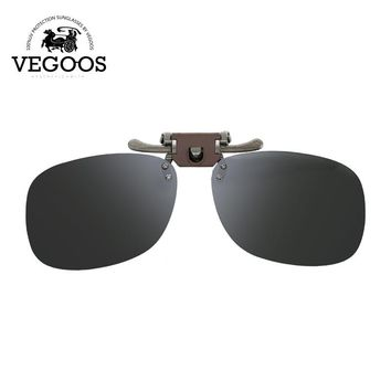 VEGOOS Myopia Polarized Clip On Sunglasses Man Driving Vision Lens Sun Glasses Anti-UVA Anti-UVB Flip up Men&Women 20 collection