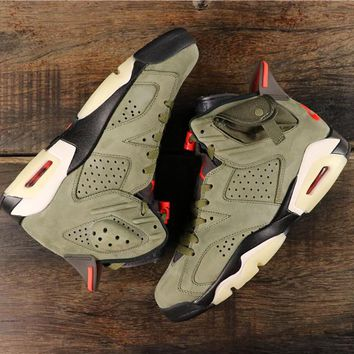 Hot Style - Air Jordan 6 x Travis Scott Gold Digger