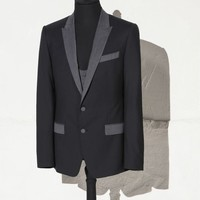 Contrasting jacket and waistcoat ensemble | dolce&gabbana online store
