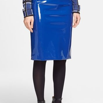 MARC BY MARC JACOBS Plastic Pencil Skirt