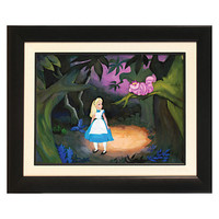 Disney The Cat Only Grinned Limited-Edition Gicleé | Disney Store