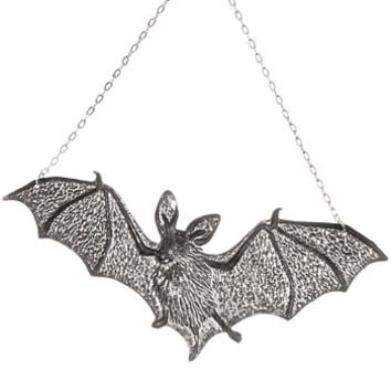 Nocturnal Bat Ornamental Wall Art - PLASTICLAND
