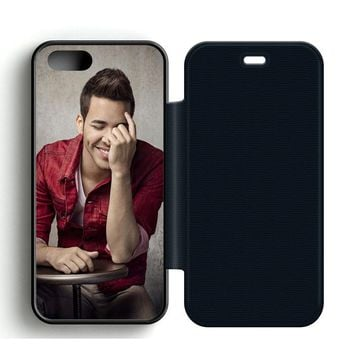 Prince Royce Cool Leather Wallet Flip Case iPhone 5 | 5S