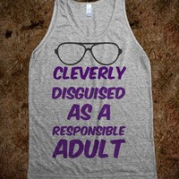 Responsible Adult  - t-shirts/tanks and more