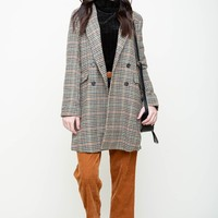Sherlock Homes Plaid Coat
