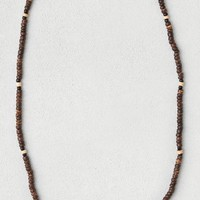 AEO Women's Brown Beaded Necklace (Brown)
