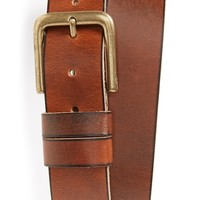 Men's Topman Tan Leather Belt,