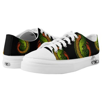 Celtic Twists Printed Shoes