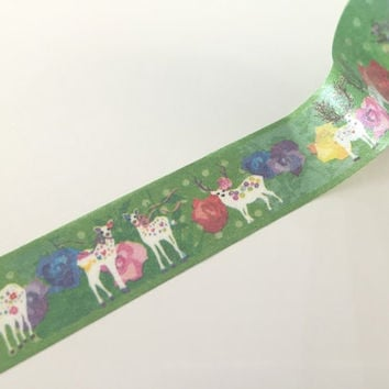 Fawn Fantasy - Washi tape - 10 meters WT807