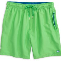Solid Swim Trunks in Island Reef Green by Southern Tide