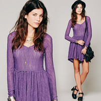 Hot Sale Lace One Piece Dress = 5861791617