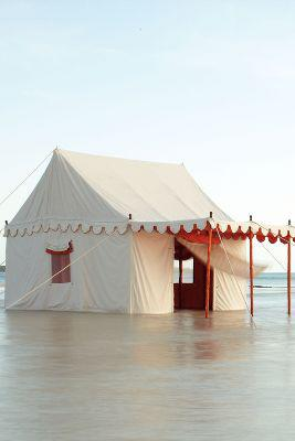 Altair Tent by Anthropologie Ivory One Size House & Home