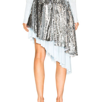 Sandy Liang Skrrt Skirt in Disco | FWRD