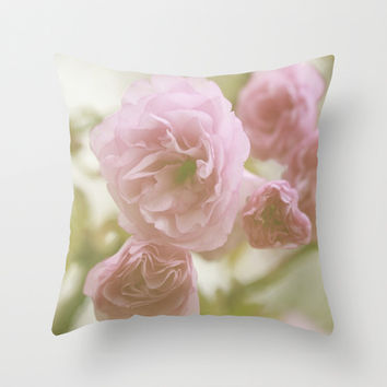 So Pretty In Pink  Throw Pillow by Stacy Frett