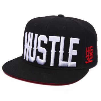 Hustle HG32 Snapback Cap by Hustle Gang
