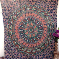 Tapestry Tapestries,Elephant Tapestry Wall Hanging, Indian Bedspread Bohemian Room Décor, Dorm Bedding Tapestry Art