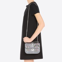 Valentino Garavani Chain Cross Body Bag, Evening Clutches for Women - Valentino Online Boutique